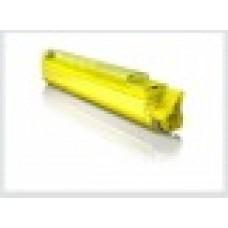 Желтый тонер-картридж для цветного принтера  oki c9655 / oki c9655n -желтый (22000 стр.) , совместимый (43837133/43837129)