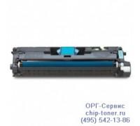 Картридж голубой Hewlett-Packard Color LaserJet  1500 / 2500 / 2550 / 2820 / 2840 ,совместимый
