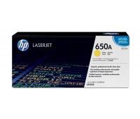 Картридж лазерный HP Color LaserJet Enterprise CP5520 / CP5525 / M750 желтый (HP 650A) ,оригинальный