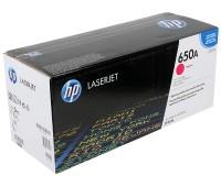Картридж лазерный HP Color LaserJet Enterprise CP5520 / CP5525 / M750 пурпурный (HP 650A) ,оригинальный