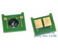 Чип желтого картриджа HP Color LaserJet CP3525dn