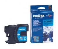 Картридж голубой Brother LC980C