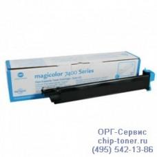 Оригинальный голубой тонер-картридж совместимый повышенной емкости Konica Minolta Magicolor 7450/7450 II (12 000стр, 8938624) Уценка :Отсутствует картонная упаковка.