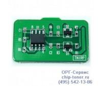 Чип голубого  картриджа Samsung CLP-610ND/660N/660ND