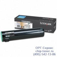 Картридж с черным тонером повышенной емкости для Lexmark C935 / 935DN / X940e / X945e (черный) , (32 K) (C930H2KG) оригинальный