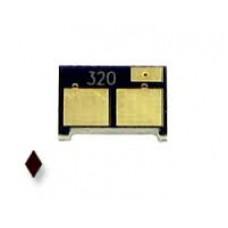 Чип (совместимый) картриджа HP Color LaserJet PRO 200 / M251 / MFP M276 (1.6K) (черный) (CF212A, HP 131A)