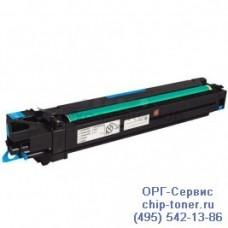 Блок формирования изображения (Imaging Unit,включает фотобарабан и девелопер) синий (Cyan) IU-610C для Konica Minolta bizhub C451 / С650,Develop ineo+ 451 / 550, (A0600JF), ресурс 100к, оригинальный Уценка :Отсутствует картонная упаковка