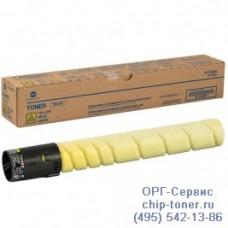 Тонер-картридж оригинальный TN-216Y для Konica Minolta bizhub С220 / C280 A11G251, желтый, ресурс :26К