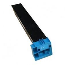 Совместимый картридж с тонером голубого цвета для konica minolta bizhub C550 (аналог TN611C, 27K)