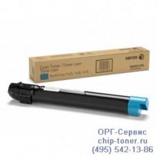 Тонер-картридж голубой (Cyan) Xerox WorkCentre 7425 / 7428 / 7435 (006R01402), Ресурс печати : 15000 стр., оригинальный