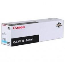 Тонер-картридж  Canon C-EXV16/GPR-20 Cyan, для принтеров CANON CLC 4040, CLC 4141, CLC 5151, Ресурс:36 000 стр. оригинальный