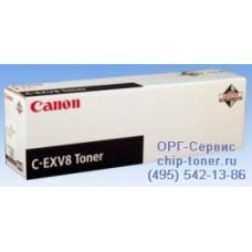 Тонер-картридж черный для Canon iRC 3200 / CLC-3200 / 3220 / 2620 CEXV-8 (7629A002) Ресурс 25000 страниц оригинальный.
