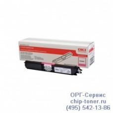 Оригинальный картридж с пурпурным тонером для цветного принтера OKI C110 / C130 / MC160 (2.5K) (44250722) повышенной емкости