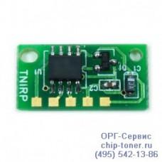 Чип (совместимый) тонер-картриджа картриджа Minolta bizhub C300/BIZHUB C352 (12K) (СИНИЙ)