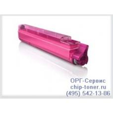 Розовый тонер-картридж для цветного принтера OKI C9600 / OKI C9800  -розовый, совместимый (42918914)