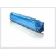 Cиний тонер-картридж для цветного принтера oki c9655n / oki c9655 -синий (22000 стр.) , совместимый (43837135/43837131)