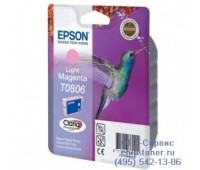 Картридж светло-пурпурный Epson T0806