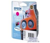 Картридж Epson T0633 Epson Stylus C67 /C87/CX3700/CX4100/CX4700 пурпурный (C13T06334A)