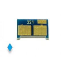 Чип (совместимый) картриджа HP Color LaserJet PRO 200 / M251 / MFP M276 (1.8K) (СИНИЙ) (CF211A, HP 131A)