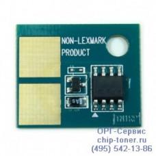 Чип (совместимый) картриджа Lexmark E250/350 (3.5K) Китай (E250A21E)
