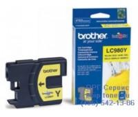 Картридж желтый Brother LC980Y