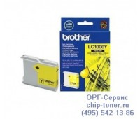 Струйный картридж Brother LC1000Y  (желтый)