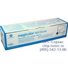 Тонер картридж для принтера Konica Minolta MagiColor 7450/7450-II/ 7450-II-GA; черный, оригинальный. (15к) 8938621 (8938-621)