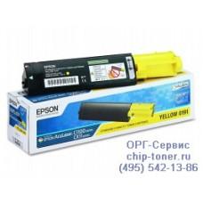 Картридж (тонер) Картридж EPSON S050187 AcuLaser C1100 / CX11N желтый, оригинальный (4000 стр.)(epson aculaser c1100)