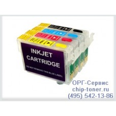 Комплект MultiPack совместимый (4 цв) для EPSON Stylus C79/C110/CX6900F/CX8300/CX9300F/TX209/TX409/T30/T40W/TX300F/TX600FW
