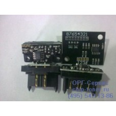 Чип (совместимый) драм-картриджа (Image Unit) Konica-Minolta IU-612C Bizhub C452 / C552 / C652 (135K) (голубой)