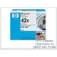 Hewlett-Packard Принт-картридж HP 42X (Q5942X) для LJ 4250 / 4350 / 9085 ресурс - до 20 тыс. стр. А4 при 5% заполнении.. Артикул - Q5942X. [Q5942X] оригинал