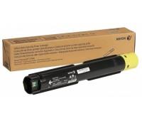 Картридж 106R03766 желтый для Xerox VersaLink C7000N / C7000DN увеличеной емкости оригинальный