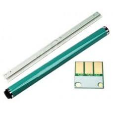 Комплект восстановления цветного фотобарабана Develop ineo+ 284 (фотовал,  чистящее лезвие,  чип драм-картриджа)