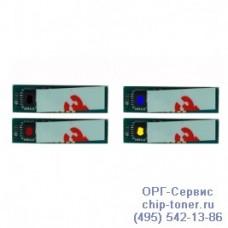Чип голубого картриджа Samsung CLP-320 / 325 / CLX-3185