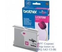 Картридж пурпурный Brother LC-970M,  оригинальный