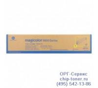Тонер-картридж желтый Konica Minolta Magicolor 8650DN оригинальный