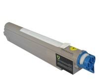 Картридж желтый Oki C9600 / C9800,  совместимый
