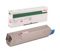Тонер-картридж пурпурный 44844626 для Oki C822 / C822DN / C822N оригинальный