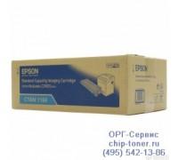 Картридж голубой Epson AcuLaser C2800N оригинальный
