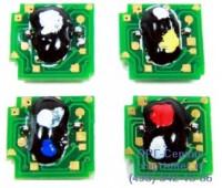 Чип пурпурного картриджа HP CLJ CP4025 / CP4525