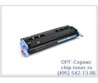 Картридж голубой HP Color LaserJet 124A ,совместимый