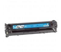 Картридж голубой HP Color LaserJet CP1215 / 1515 / 1518 / CM1312,  совместимый