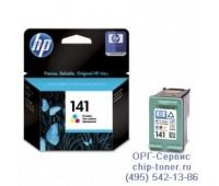 Картридж цветной HP 141 ,оригинальный