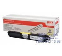 Картридж желтый Oki C110 / C130 / MC160 ,оригинальный