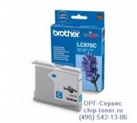 Картридж голубой Brother LC-970C, оригинальный