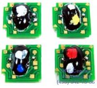 Чип желтого картриджа HP Color LaserJet CP6015 / CM6040MFP