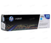 Картридж голубой HP Color LaserJet CP1215 / CP1515 / CP1518 / CM1312 оригинальный