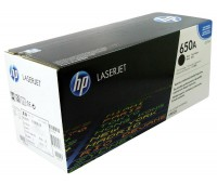 Картридж лазерный HP Color LaserJet Enterprise CP5520 / CP5525 / M750 черный (HP 650A) ,оригинальный