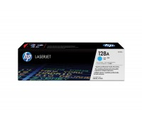 Картридж голубой HP Color LaserJet Pro CM1415fn,  CP1525n,  CM1415fnw,  CP1525nw оригинальный