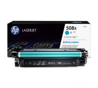 Картридж голубой HP LaserJet Enterprise 500 M552dn / M553 series / M577 series оригинальный